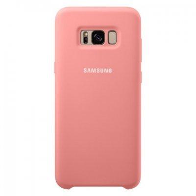 Чехол для смартфона Samsung Galaxy S8+ розовый (EF-PG955TPEGRU) (EF-PG955TPEGRU) чехол клип кейс samsung alcantara cover для samsung galaxy s8 розовый [ef xg950apegru]