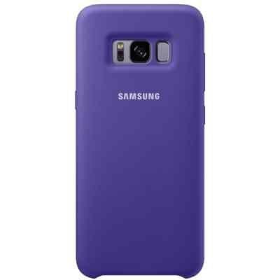 Чехол для смартфона Samsung Galaxy S8+ фиолетовый (EF-PG955TVEGRU) (EF-PG955TVEGRU) клип кейс samsung silicone cover для galaxy s8 зеленый