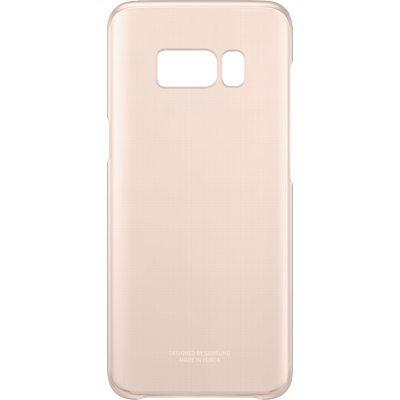 Чехол для смартфона Samsung Galaxy S8 розовый/прозрачный (EF-QG950CPEGRU) (EF-QG950CPEGRU) чехол клип кейс samsung protective standing cover great для samsung galaxy note 8 темно синий [ef rn950cnegru]