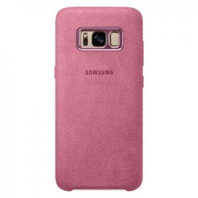 Чехол для смартфона Samsung Galaxy S8 розовый (EF-XG950APEGRU) (EF-XG950APEGRU) чехол клип кейс samsung protective standing cover great для samsung galaxy note 8 темно синий [ef rn950cnegru]