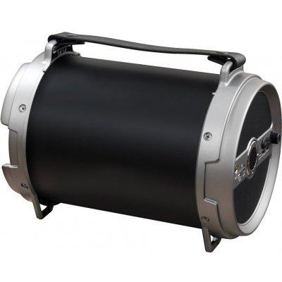 Портативная акустика Ginzzu GM-885B черный (GM-885B) беспроводная bt колонка ginzzu gm 899b bluetooth 2x3w 4ah usb tf aux fm цветомузыка
