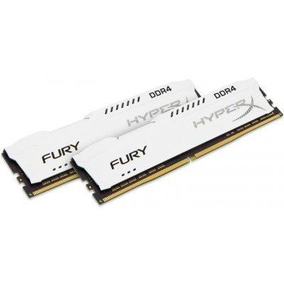 Модуль оперативной памяти ПК Kingston HX421C14FW2K2/16 16GB DDR4 (HX421C14FW2K2/16)Модули оперативной памяти ПК Kingston<br>Kingston 16GB 2133MHz DDR4 Non-ECC CL14 DIMM (Kit of 2) HyperX FURY White<br>