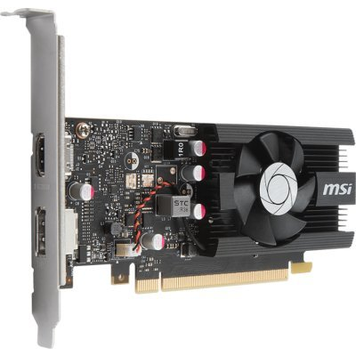 все цены на Видеокарта ПК MSI GT 1030 2G LP OC nVidia GeForce GT 1030 2048Mb 64bit GDDR5 1265/6000/HDMIx1/DPx1/HDCP Ret low profile (GT 1030 2G LP OC) онлайн