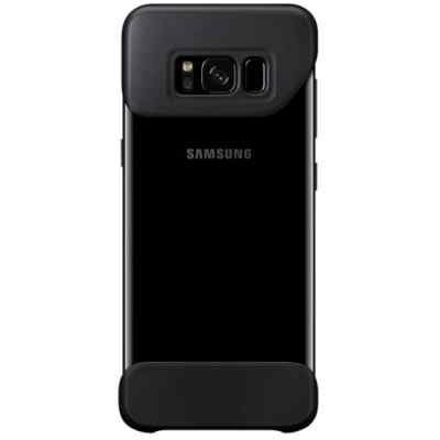 Чехол для смартфона Samsung Galaxy S8 черный (EF-MG950CBEGRU) (EF-MG950CBEGRU) чехол клип кейс samsung protective standing cover great для samsung galaxy note 8 темно синий [ef rn950cnegru]