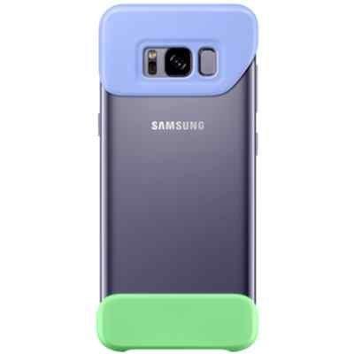 Чехол для смартфона Samsung Galaxy S8+ фиолетовый/зеленый (EF-MG955CVEGRU) (EF-MG955CVEGRU) чехол для смартфона samsung galaxy s8 зеленый ef pg955tgegru ef pg955tgegru