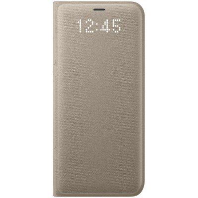 Чехол для смартфона Samsung Galaxy S8 золотистый (EF-NG950PFEGRU) (EF-NG950PFEGRU) чехол флип кейс samsung ef wj120p для samsung galaxy j1 2016 золотистый [ef wj120pfegru]