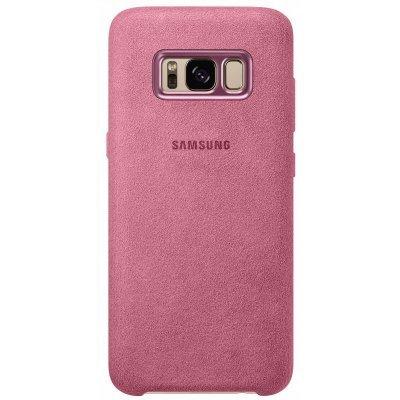Чехол для смартфона Samsung Galaxy S8+ розовый (EF-XG955APEGRU) (EF-XG955APEGRU) чехол клип кейс samsung alcantara cover для samsung galaxy s8 розовый [ef xg950apegru]