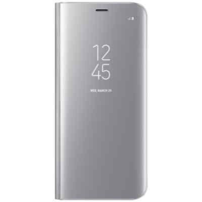 Чехол для смартфона Samsung Galaxy S8 серебристый (EF-ZG950CSEGRU) (EF-ZG950CSEGRU) чехол клип кейс samsung protective standing cover great для samsung galaxy note 8 темно синий [ef rn950cnegru]