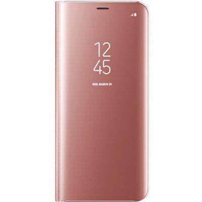 Чехол для смартфона Samsung Galaxy S8+ розовый (EF-ZG955CPEGRU) (EF-ZG955CPEGRU) чехол клип кейс samsung protective standing cover great для samsung galaxy note 8 темно синий [ef rn950cnegru]