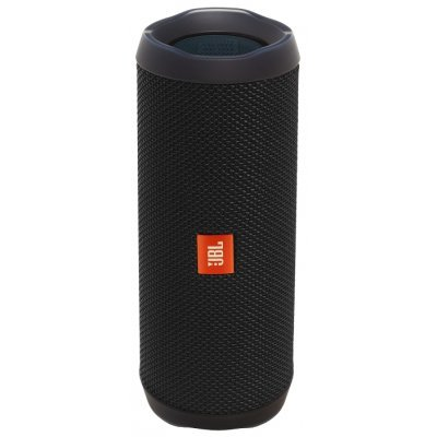 Портативная акустика JBL Flip 4 черный (JBLFLIP4BLK) клип кейс samsung silicone cover для galaxy s8 зеленый