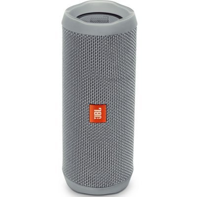 Портативная акустика JBL Flip 4 серый (JBLFLIP4GRY) гарнитура jbl e55bt белый jble55btwht