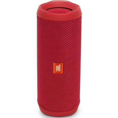 Портативная акустика JBL Flip 4 красный (JBLFLIP4RED) гарнитура jbl e55bt белый jble55btwht