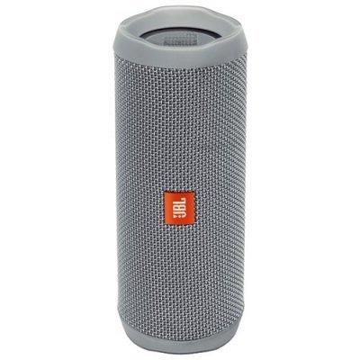 Портативная акустика JBL Flip 4 белый (JBLFLIP4WHT) беспроводная акустика jbl flip 4 white jblflip4wht