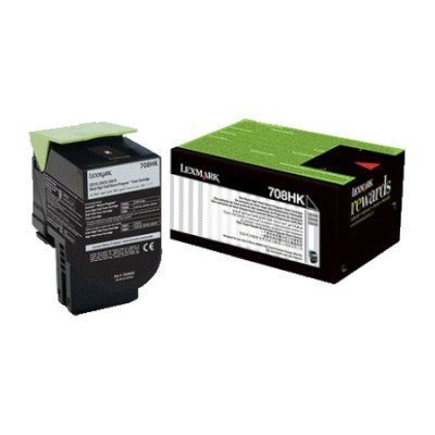 Тонер-картридж для лазерных аппаратов Lexmark Черный для CS310, CS410, CS510 (70C8HKE) color toner cartridge 70c1hk0 70c1hc0 70c1hm0 70c1hy0 for lexmark cs310 cs410 cs510 cx310 cx410 cx510 printers