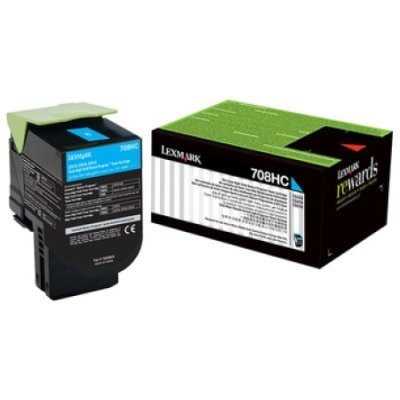 Тонер-картридж для лазерных аппаратов Lexmark Голубой для CS310, CS410, CS510 (70C8HCE) color toner cartridge 70c1hk0 70c1hc0 70c1hm0 70c1hy0 for lexmark cs310 cs410 cs510 cx310 cx410 cx510 printers