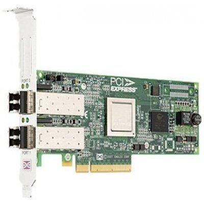 Сетевая карта для сервера Dell Emulex LPe12002 8Gb PCIe Low Profil Kit (406-10469) (406-10469) память ddr3 dell 370 abgj 8gb rdimm reg 1866mhz