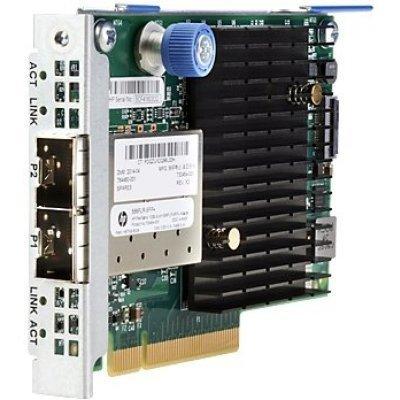 Сетевая карта для сервера HP 556FLR-SFP+ FlexFabric 10Gb 2P (727060-B21) (727060-B21) new new 10gb sfp fiber module 455883 b21 455885 001 456096 001
