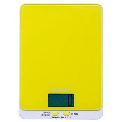 Весы кухонные Kitfort KT-803-4 желтый (KT-803-4), арт: 265938 -  Весы кухонные Kitfort