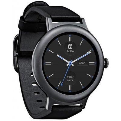 цены  Умные часы LG Watch Style W270 титан (LGW270.ACISTN)