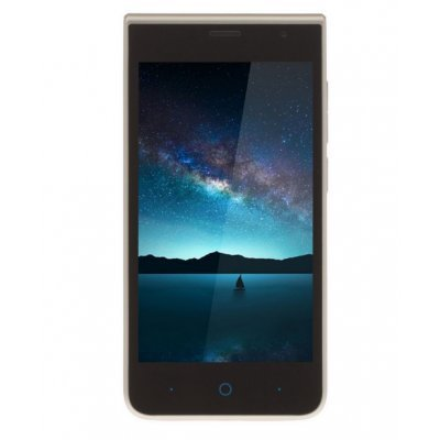Смартфон ZTE BLADE A210 золотистый (BLADEA210GOLD) смартфон zte blade a210 серый 4 5 8 гб lte wi fi gps 3g