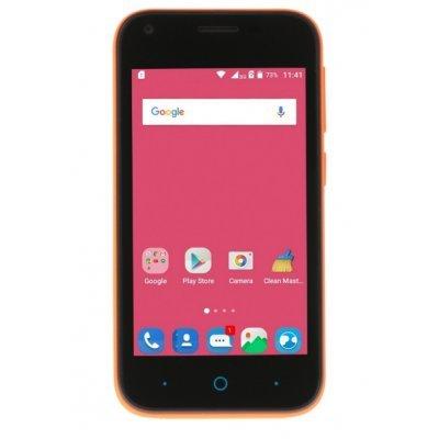 Смартфон ZTE BLADE L110 оранжевый (BLADEL110ORANGE) смартфон zte нубия z5s