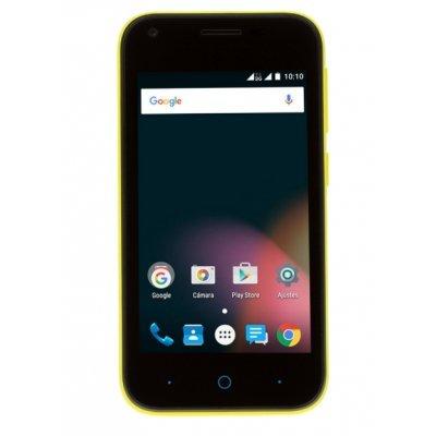 Смартфон ZTE BLADE L110 желтый (BLADEL110YELLOW) смартфон zte blade v8 mini 32gb gold