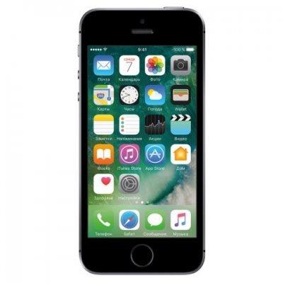 Смартфон Apple iPhone SE 128Gb серый (MP862RU/A) смартфон apple iphone se mlxm2ru a 16gb золотистый