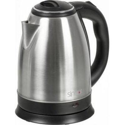 Электрический чайник Sinbo SK 7362 серебристый (SK 7362) чайник sinbo sk 7358 2200 вт 1 8 л пластик слоновая кость