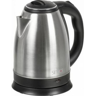 Электрический чайник Sinbo SK 7362 серебристый (SK 7362) чайник электрический sinbo sk 7323 2200вт белый и синий