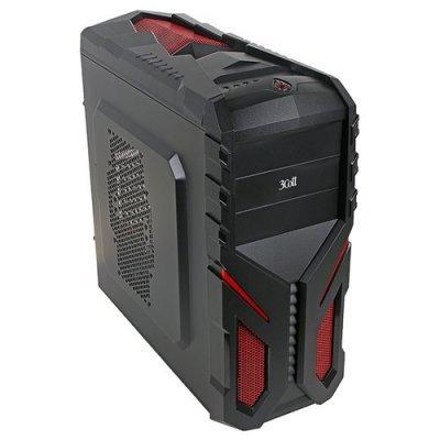 Корпус системного блока 3Cott 3C-ATX136G без БП (3C-ATX136G-WOPSU) корпус системного блока 3cott 3c atx901gbl avalanche 3c atx901gbl