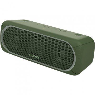 Портативная акустика Sony SRS-XB30 зеленый (SRSXB30G.RU4) портативная акустика sony srs xb30 белый srsxb30w ru4
