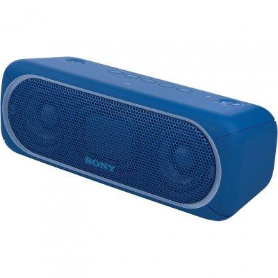 Портативная акустика Sony SRS-XB30 голубой (SRSXB30L.RU4) портативная акустика sony srs xb30 белый srsxb30w ru4