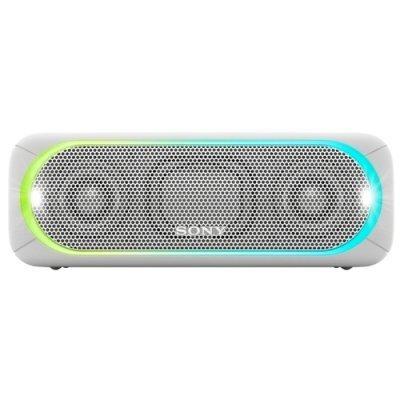 Портативная акустика Sony SRS-XB30 белый (SRSXB30W.RU4) портативная акустика sony srs xb30 green
