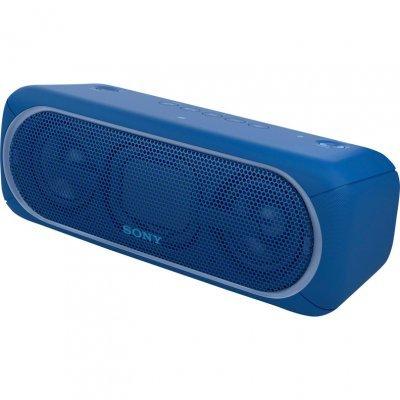 Портативная акустика Sony SRS-XB40 голубой (SRSXB40L.RU4) беспроводная портативная акустика sony srs xb30 красная bluetooth extra bass работа до 24 часов