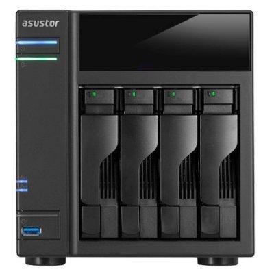 Рэковое сетевое хранилище (Rack NAS) Asustor AS6104T (90IX00H1-BW3S10) (90IX00H1-BW3S10)