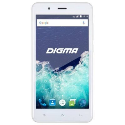 Смартфон Digma Vox S507 4G белый (VS5022PL white) сотовый телефон digma vox s507 4g white