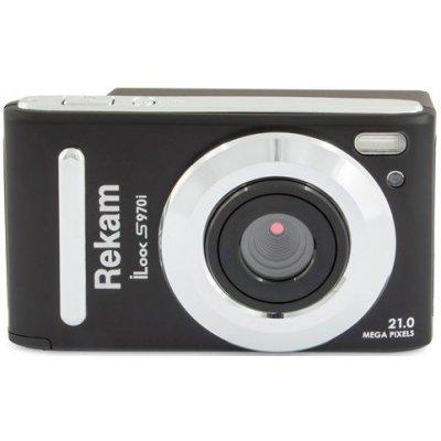 все цены на Цифровая фотокамера Rekam iLook S970i черный (1108005140) онлайн