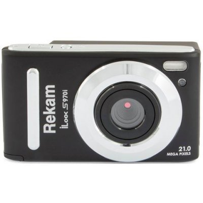 Цифровая фотокамера Rekam iLook S970i черный (1108005140) цифровая фотокамера rekam ilook s955i ilook s955i