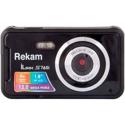 Цифровая фотокамера Rekam iLook S760i черный (1108005125) цифровая фотокамера rekam ilook s955i ilook s955i