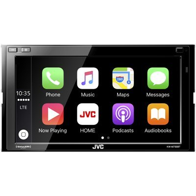 Автомагнитола JVC KW-M730BT (KW-M730BT) автомагнитола kenwood kdc 300uv usb mp3 cd fm rds 1din 4х50вт черный