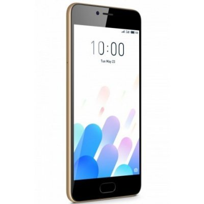 Смартфон Meizu M5C 16Gb (M710H) Золотой (M710H-16-G) смартфон meizu m5c 16gb m710h черный m710h 16 b
