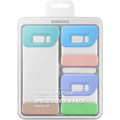 Чехол для смартфона Samsung Galaxy S8 фиолетовый (EF-MG950KMEGRU) (EF-MG950KMEGRU) чехол клип кейс samsung protective standing cover great для samsung galaxy note 8 темно синий [ef rn950cnegru]