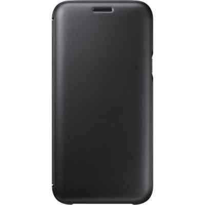 Чехол для смартфона Samsung Galaxy J5 (2017) черный (EF-WJ530CBEGRU) (EF-WJ530CBEGRU) чехол клип кейс samsung protective standing cover great для samsung galaxy note 8 темно синий [ef rn950cnegru]