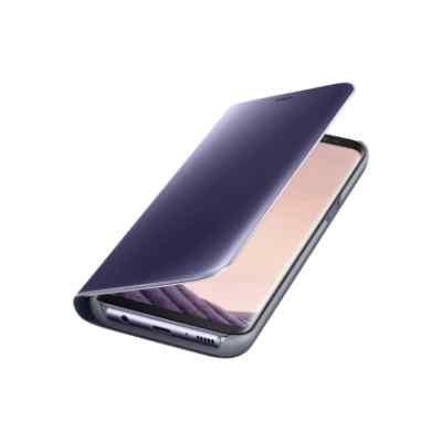 Чехол для смартфона Samsung Galaxy S8 фиолетовый (EF-ZG950CVEGRU) (EF-ZG950CVEGRU) чехол для samsung galaxy s8 samsung clear view standing cover ef zg950cvegru purple