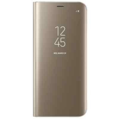 Чехол для смартфона Samsung Galaxy S8+ золотистый (EF-ZG955CFEGRU) (EF-ZG955CFEGRU) чехол флип кейс samsung clear view standing cover для samsung galaxy s8 золотистый [ef zg955cfegru]