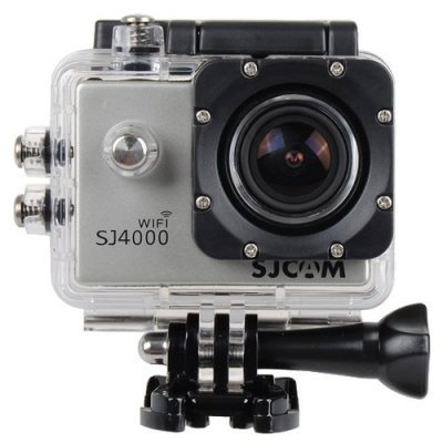 Экшн камера SJCAM SJ4000 Wi-Fi серебристый (SJ4000WIFISILVER) sjcam sj5000 plus black экшн камера