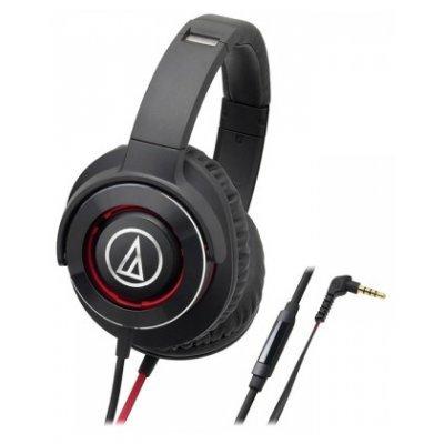 Наушники Audio-Technica ATH-WS770iS чёрный/красный (10102358) audio technica ath a550z полноразмерные наушники matte black