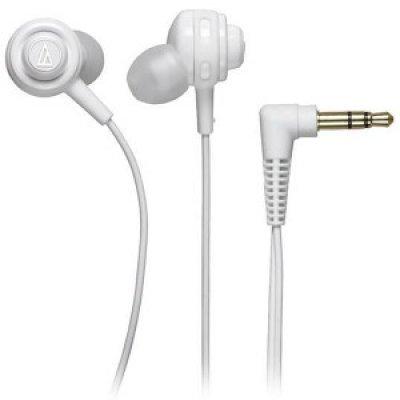 Наушники Audio-Technica ATH-COR150 белый (15117622) technica audio technica ath ar3is свет портативный смартфон гарнитура белый наушники
