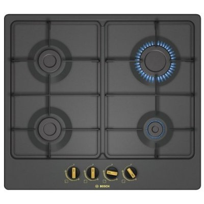 Газовая варочная панель Bosch PGP6B3B60 черный (PGP6B3B60), арт: 266610 -  Газовые варочные панели Bosch