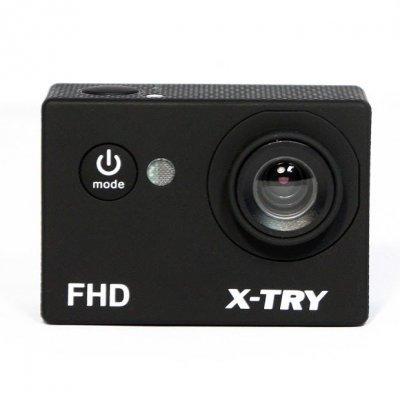 Экшн камера X-TRY XTC110 черный (XTC110) x try xtg300y hd1080p экшн камера